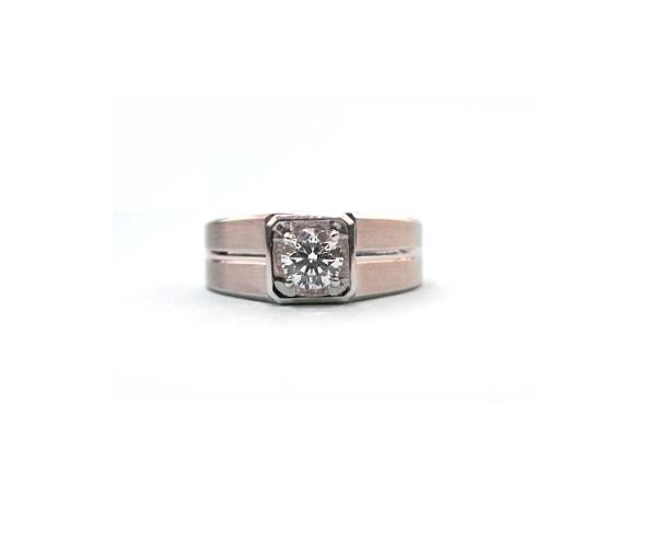 A7745 GIA天然鑽石戒指 主石0.30克拉 八箭八心