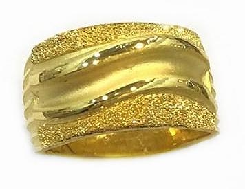 GOR1458 黃金戒指 重量約5.3錢
