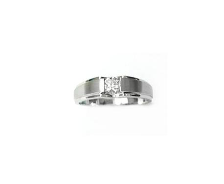 A7349 天然鑽石戒指 主石0.21克拉 八箭八心
