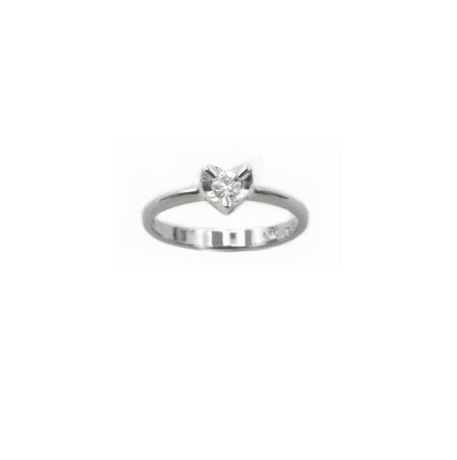 【特價9800元】A7792  天然鑽石戒指 主石0.11克拉 八