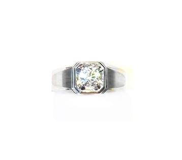 A7786 GIA天然鑽石戒指 主石0.50克拉 八箭八心