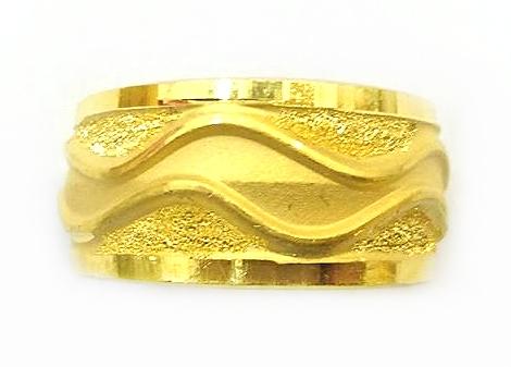 GOR1464 黃金戒指 重量約3.1錢