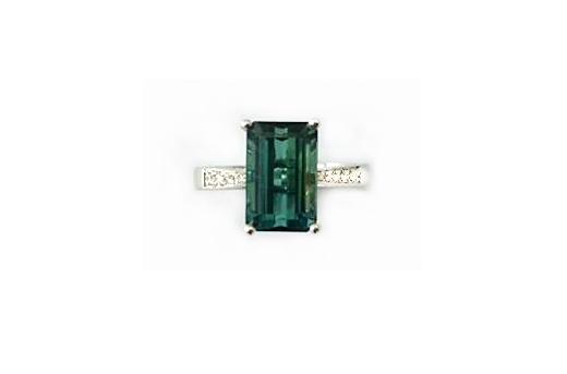 A7778 天然綠碧璽戒指 主石3.28克拉