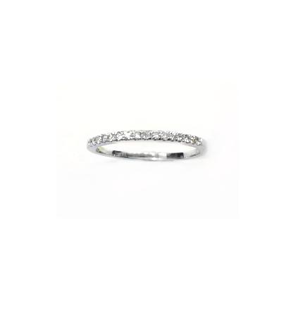 A7533 天然鑽石戒指 鑽石16顆共0.14克拉
