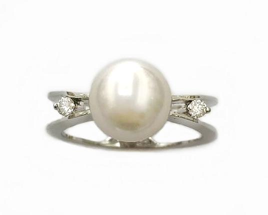 A7779 珍珠戒指 主石8.5mm