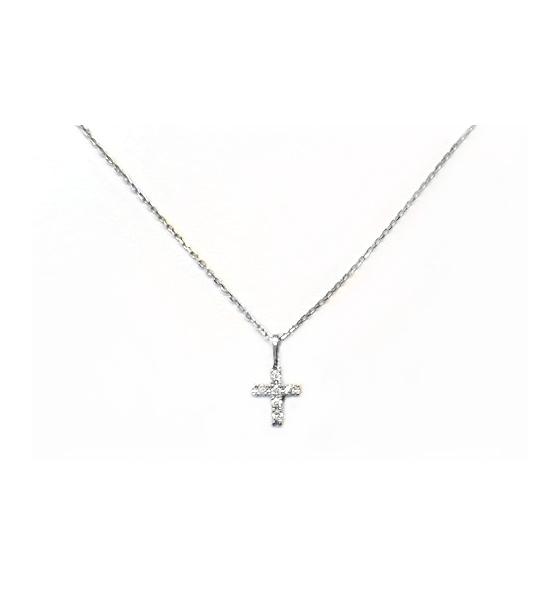 B1494 天然鑽石小套鍊 鑽石6顆 0.04克拉 特價3000元