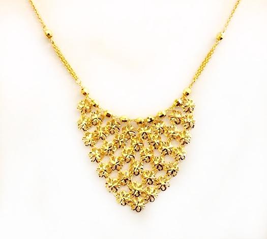 GON727 黃金套鍊 重量約3.8錢