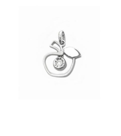 A2168天然鑽石墬子 主石0.1克拉【特價8900元】