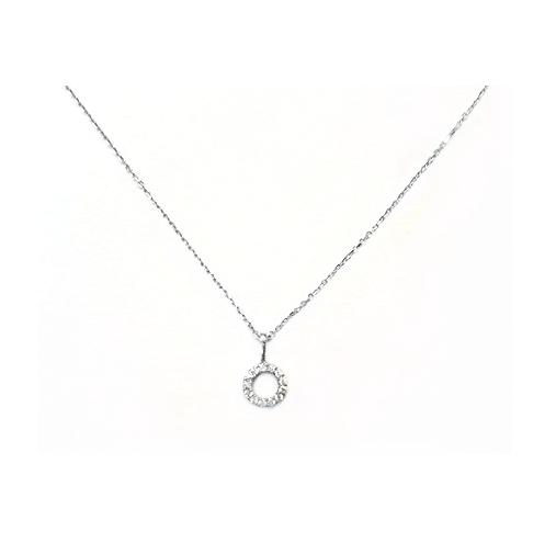 B1490 天然鑽石小套鍊 鑽石13顆 0.06克拉 特價3600
